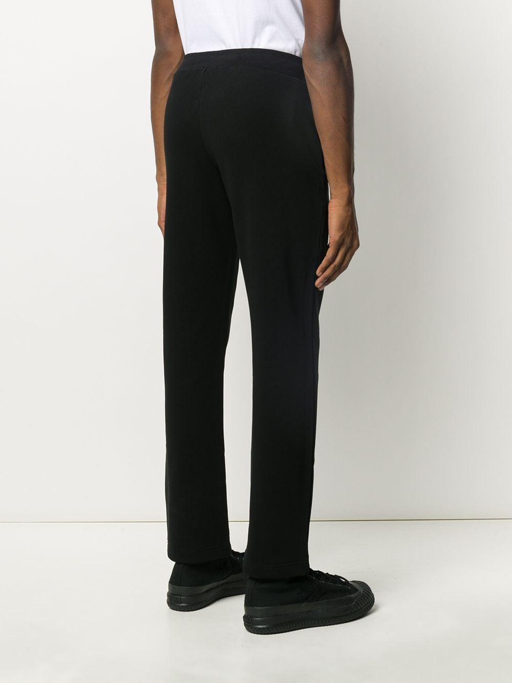 Moschino Katoen Trainingsbroek Met Print in het Zwart voor heren