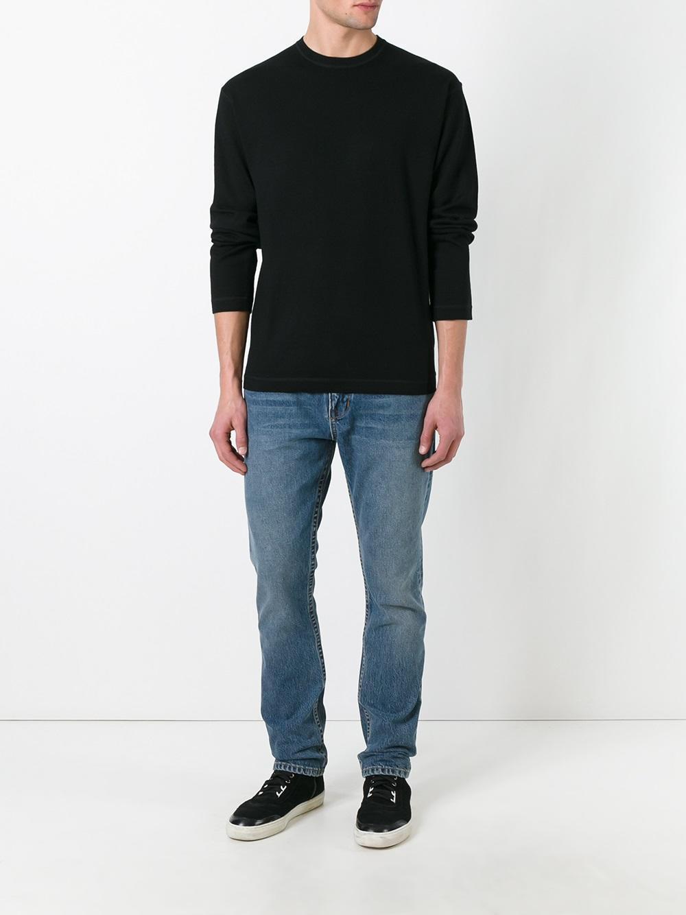 Helmut Lang Denim Tapered Jeans in Blue for Men