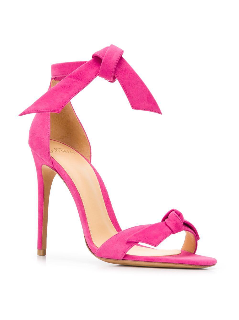 alexandre birman pink sandals