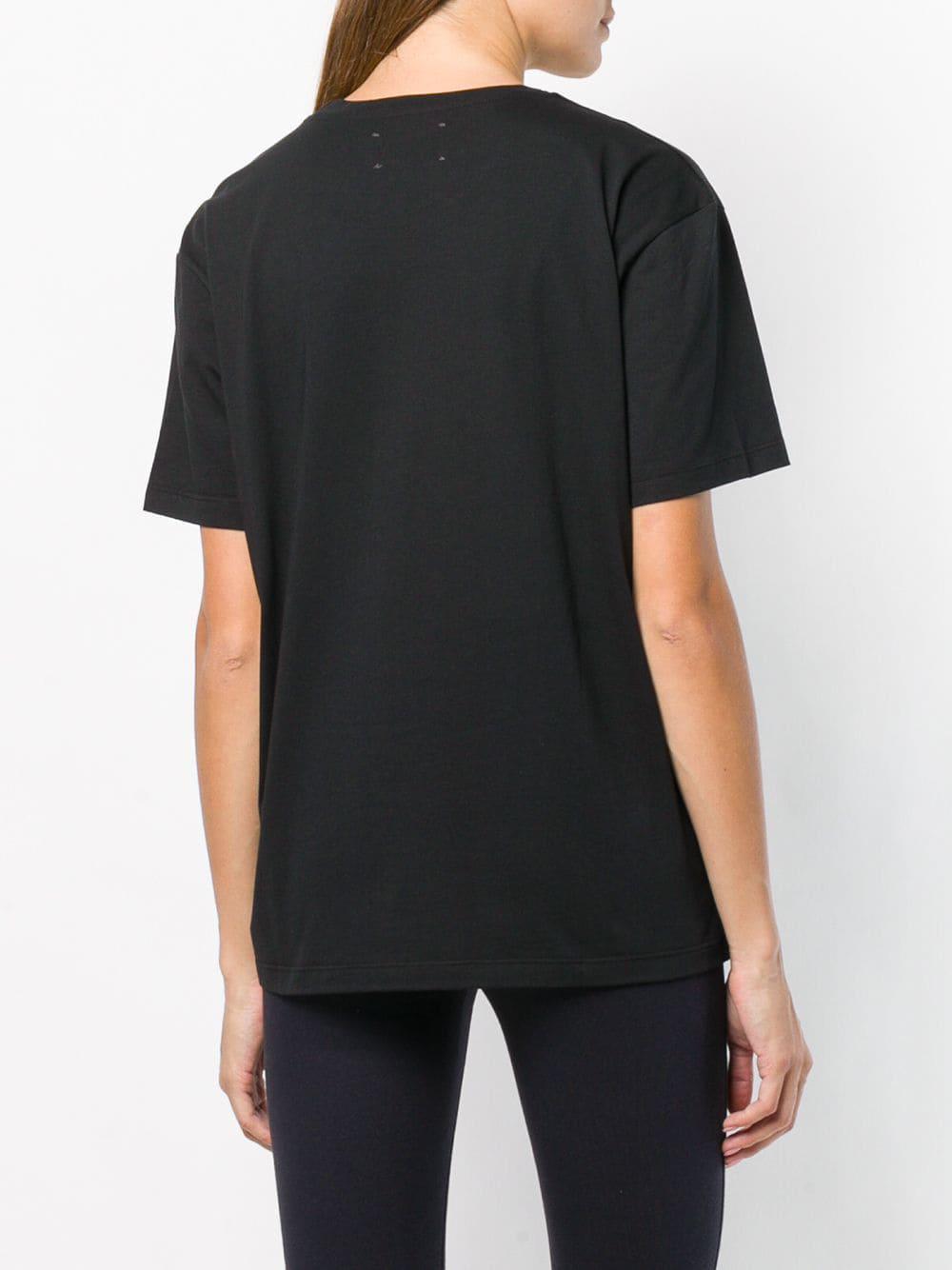 Logo Bonheur Black Print In T Lyst Shirt Gaëlle eodBCx
