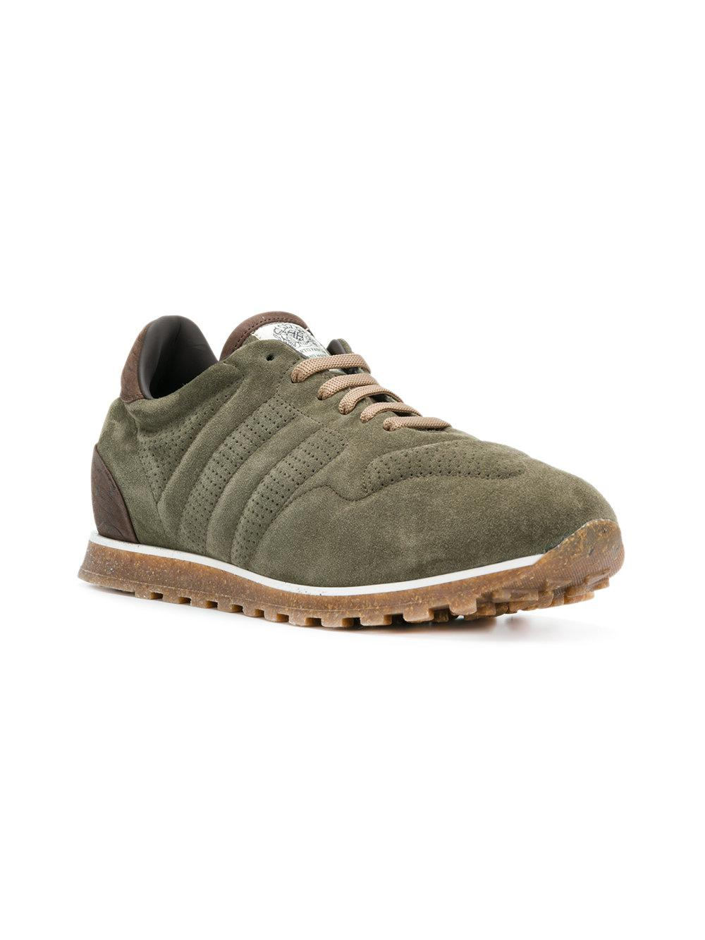 classic sneakers - Green Alberto PlZs2T