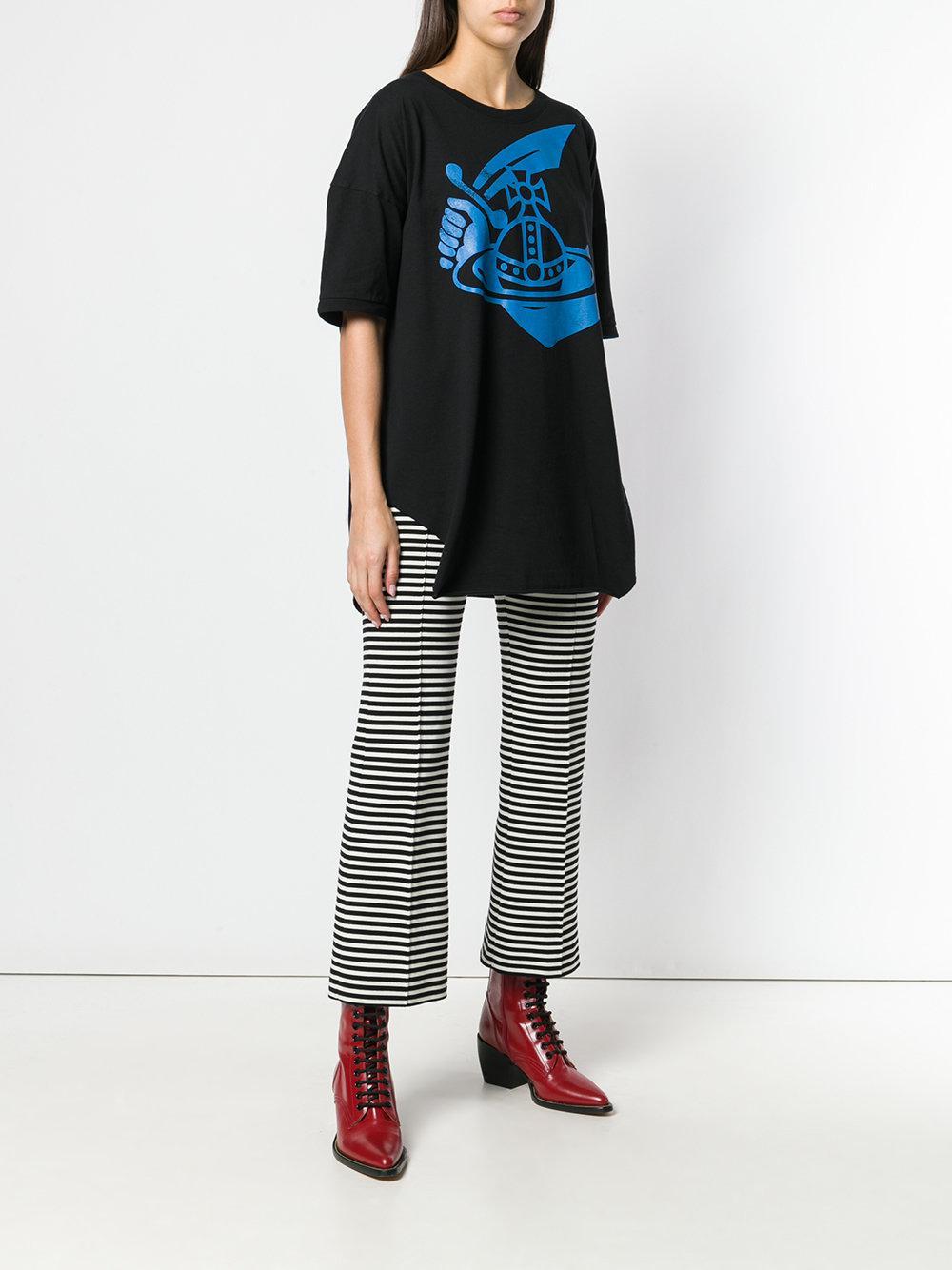 1754d832b Lyst - Vivienne Westwood Baggy Tee in Black