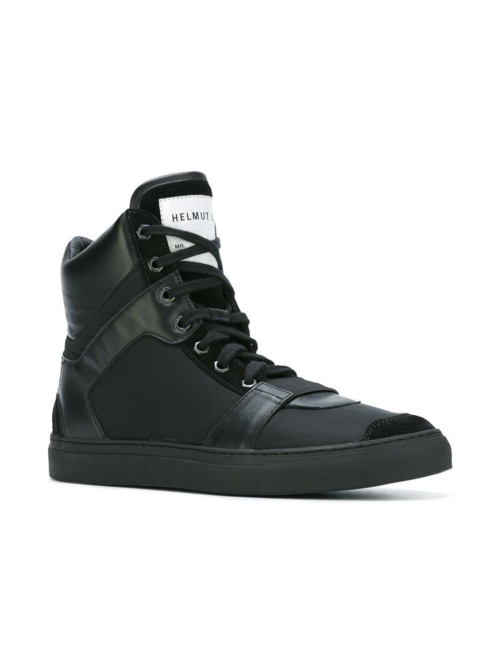 hi-top sneakers - Black Helmut Lang qdDvQW