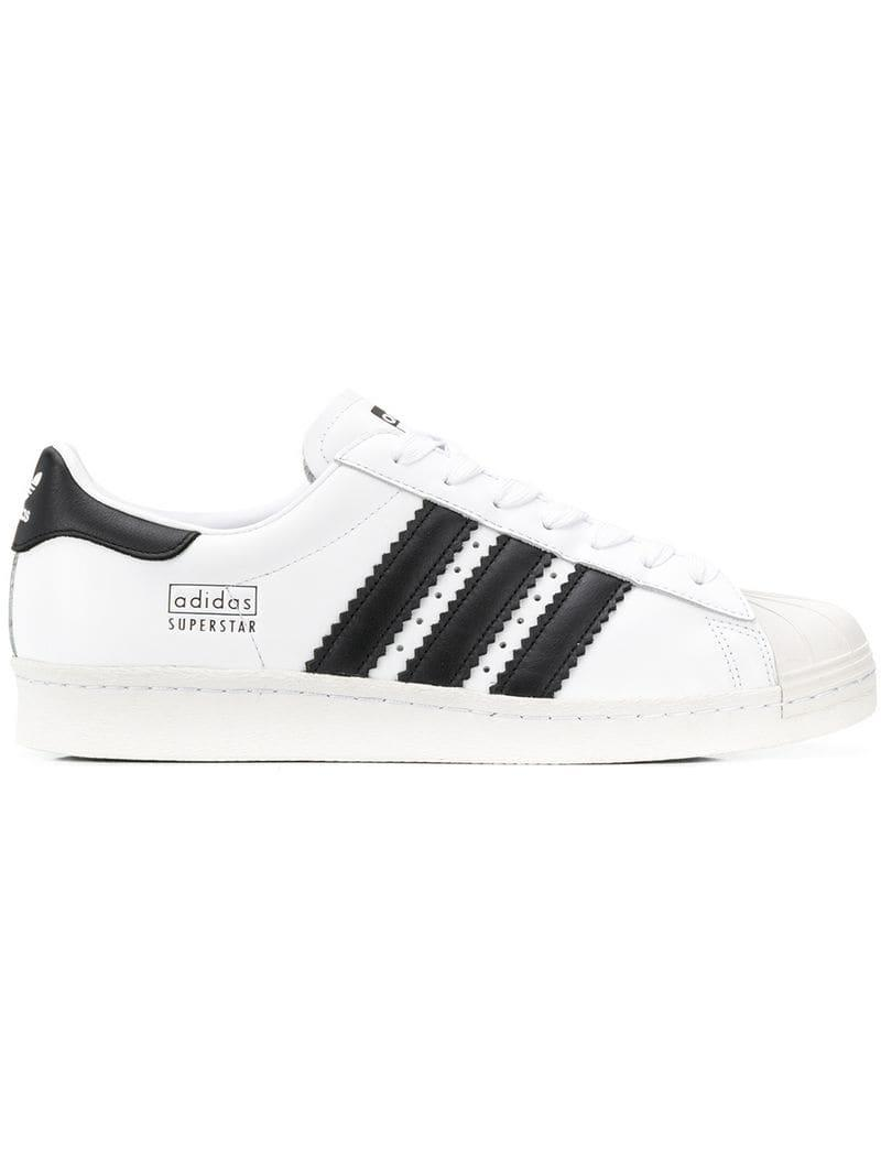 0c2914a9532a Adidas - White Superstar Sneakers for Men - Lyst. View fullscreen