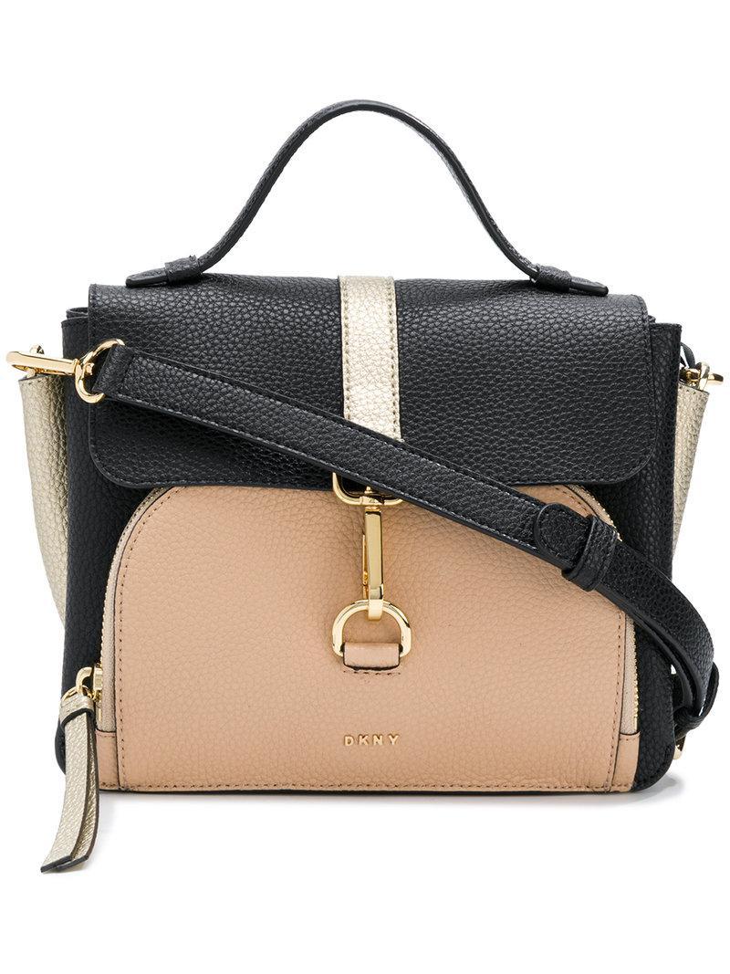 DKNY Paris Crossbody Bag in Black - Lyst 0b7948b0acc42