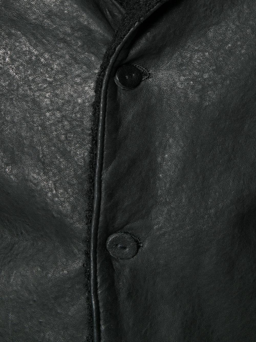 Lyst Salvatore Santoro Button Down Jacket In Black For Men
