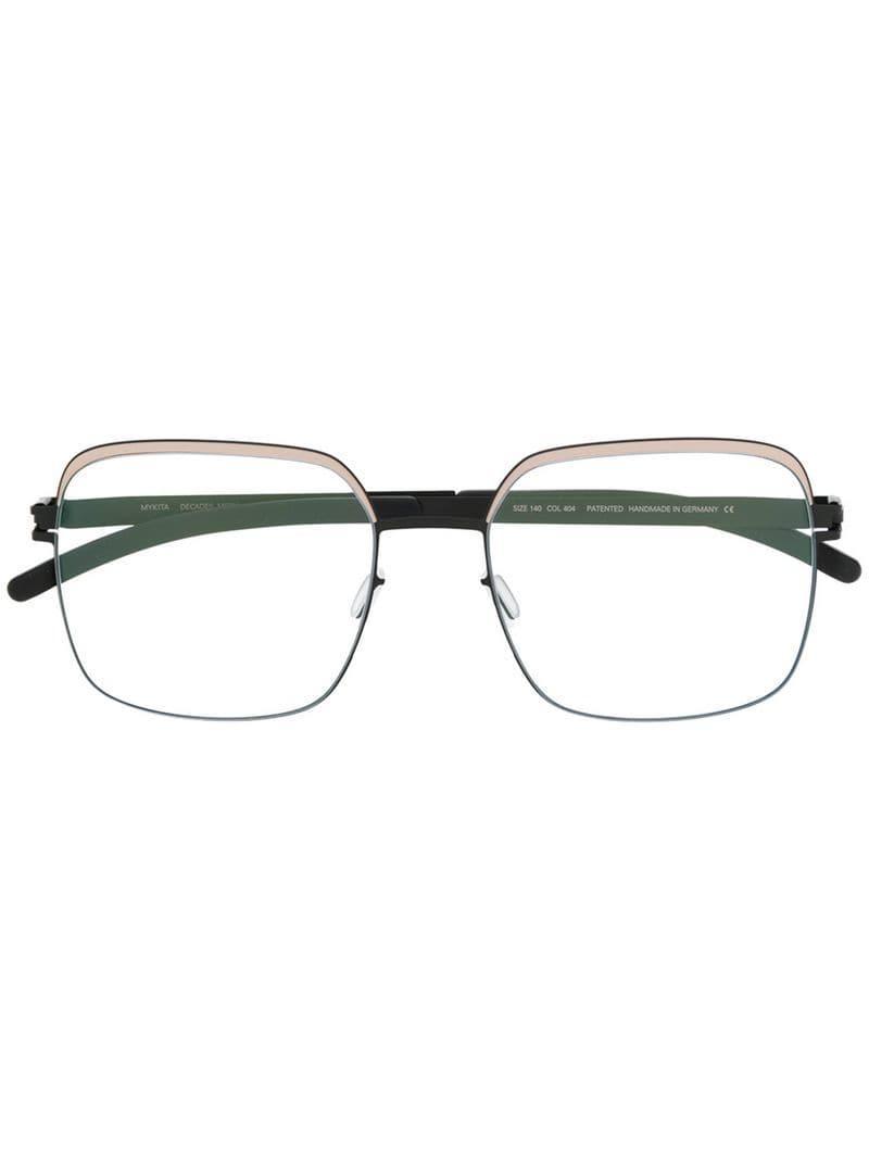 2b67470bbeb1 Mykita Meryl Oversized Glasses in Black - Lyst