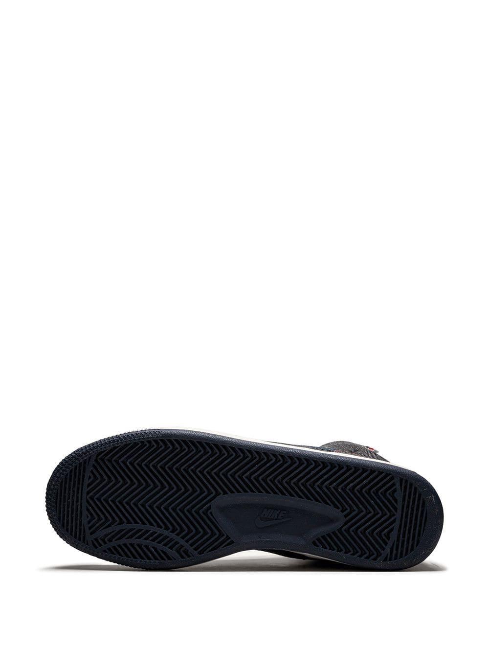 Nike Leer Terminator Premium Sneakers in het Blauw voor heren
