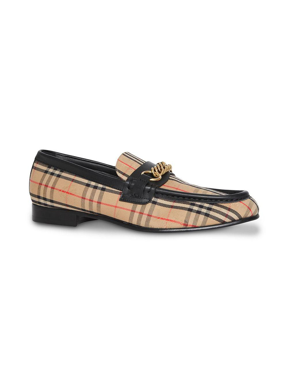 c2024485798 Burberry The 1983 Check Link Loafer - Save 40% - Lyst