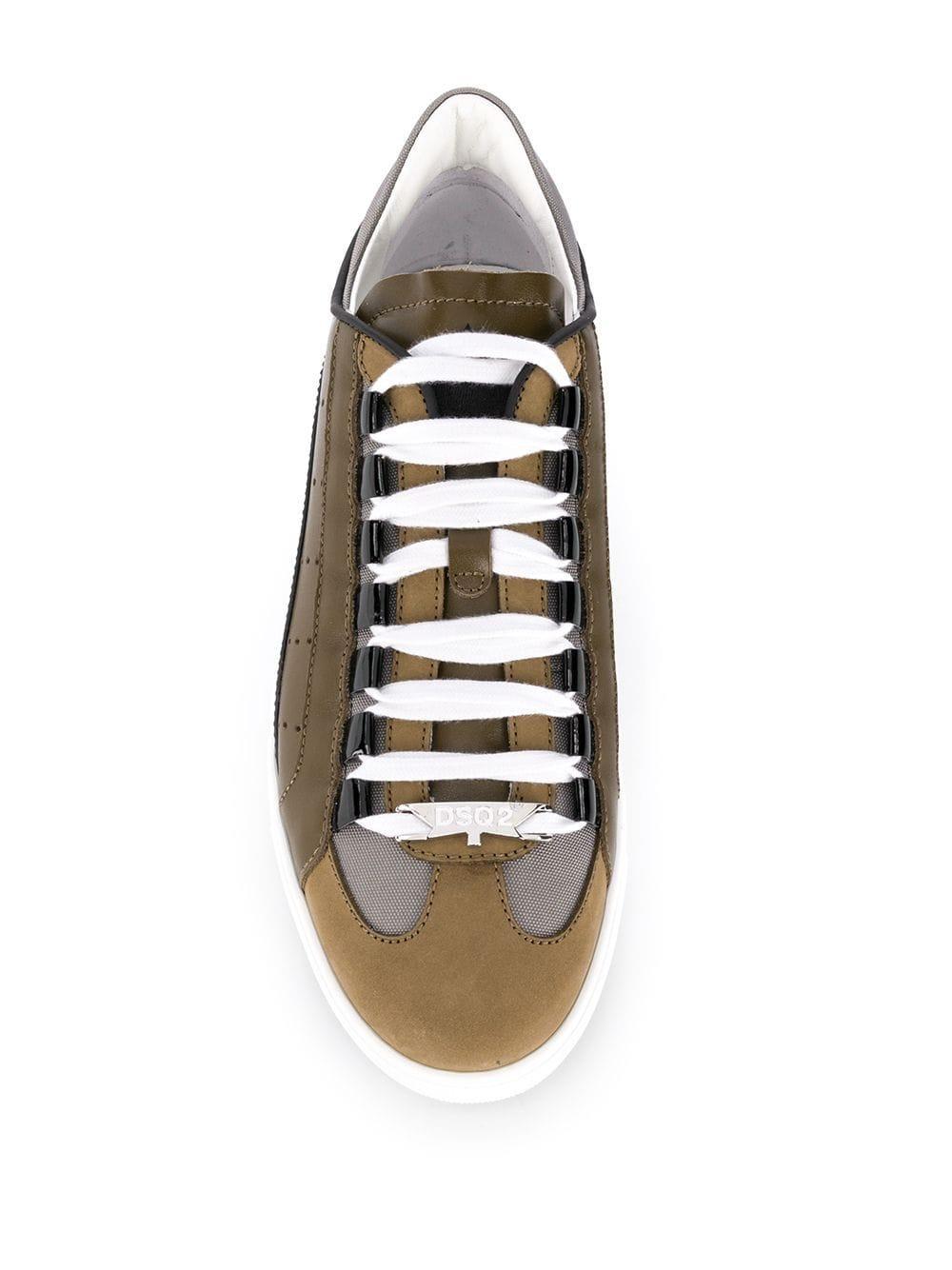 Sneakers 551 Cuir DSquared² pour homme en coloris Vert V8h8