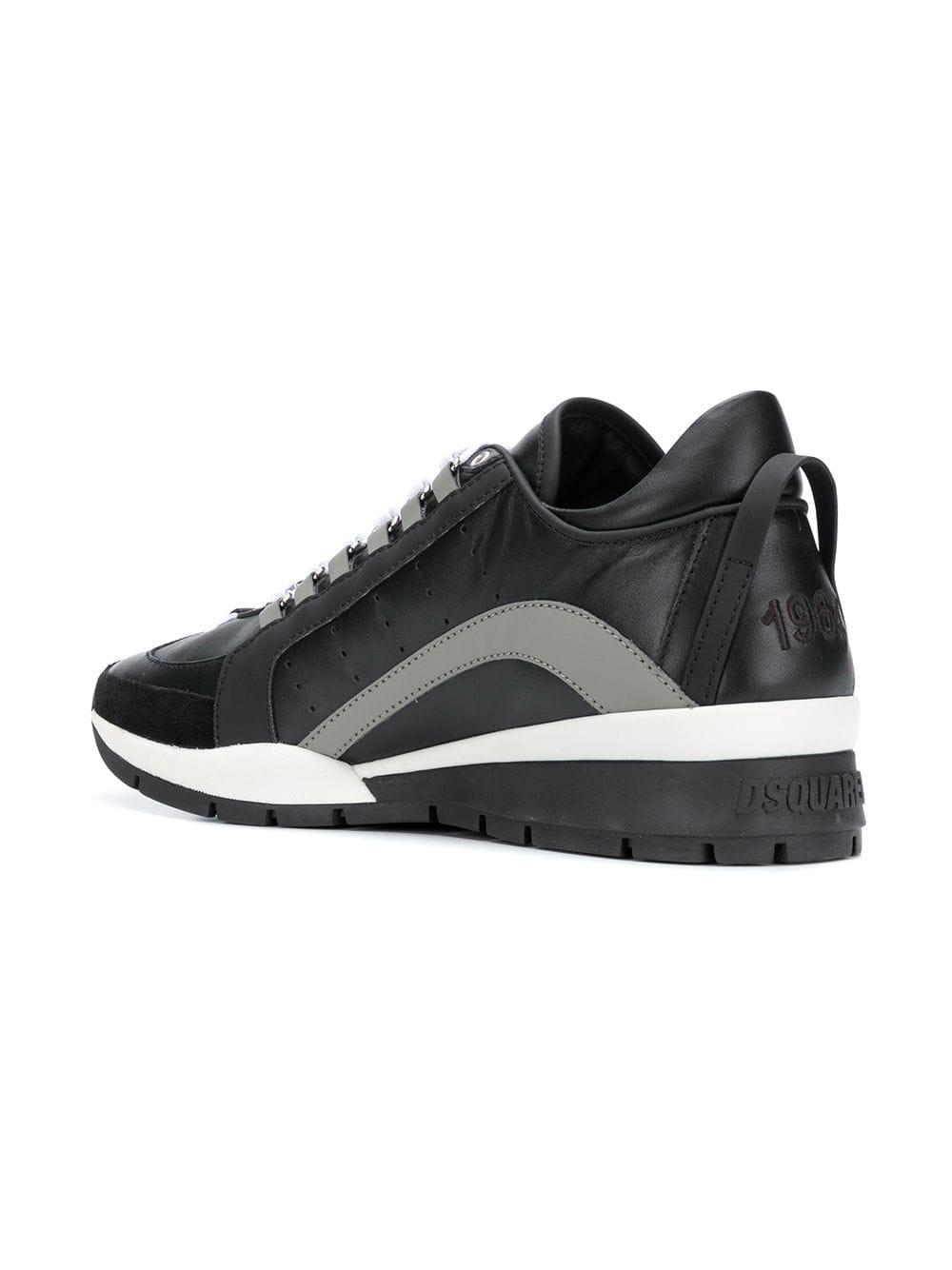 DSquared² Rubber 251 Sneakers in Black for Men