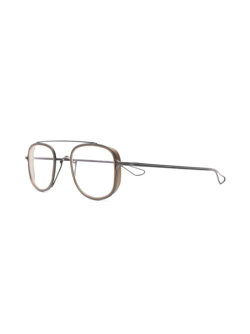 5b519f45a5c Lyst - Dita Eyewear Tessel Glasses A Thin in Metallic