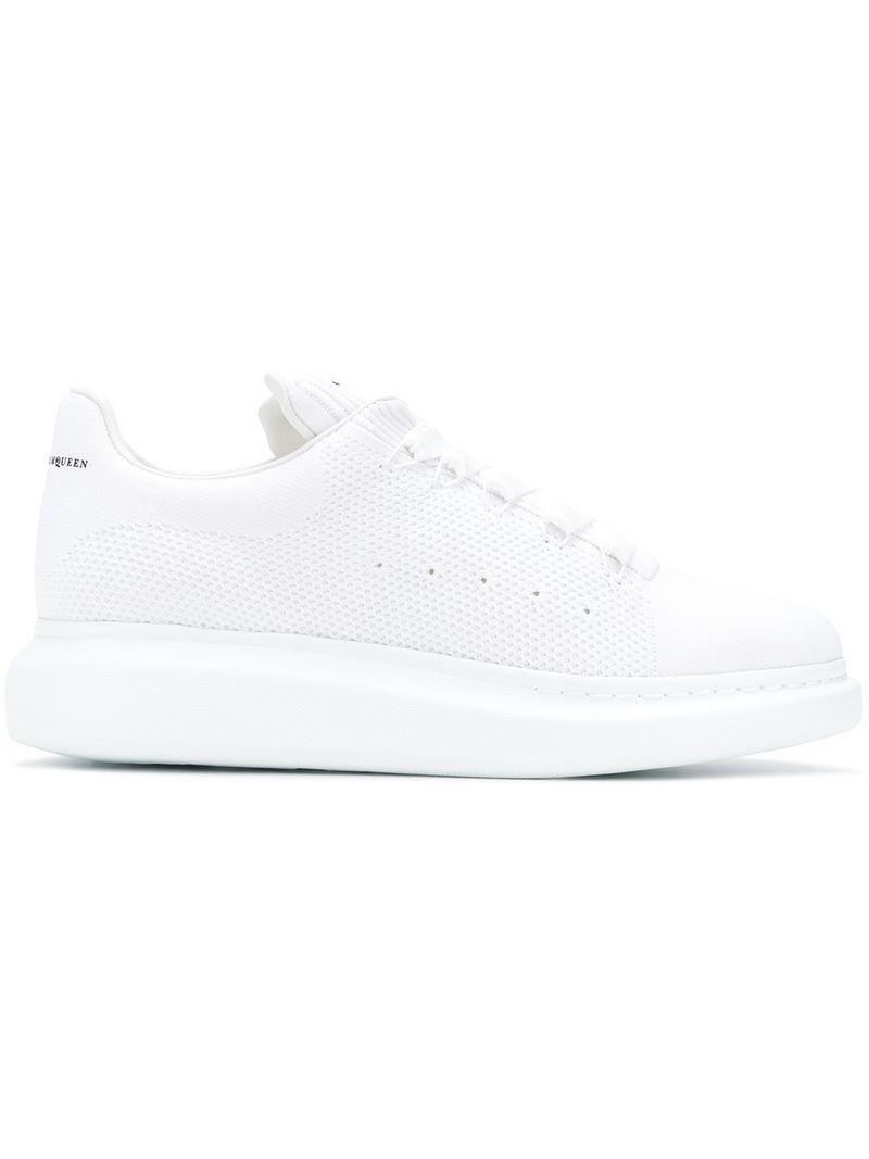 ed58284f5ef5 Lyst - Alexander McQueen Platform Sneakers in White for Men