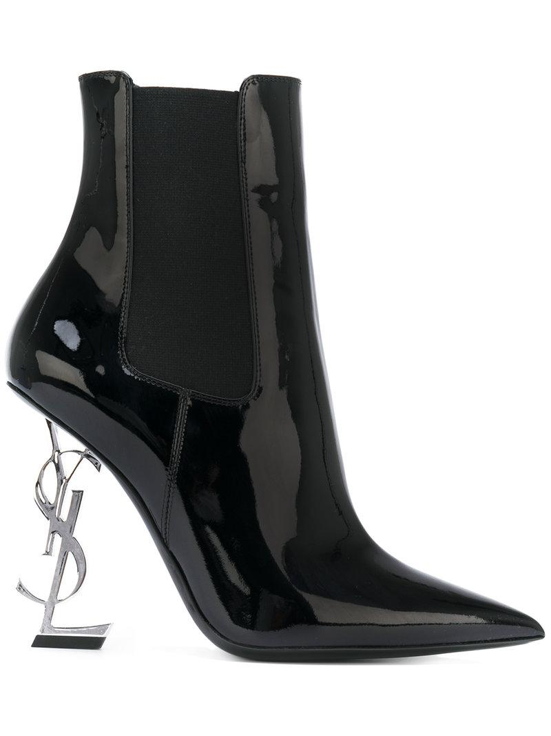 Lyst Opyum Laurent Noir 110 en Saint Bottines coloris nA8nxgHqCW