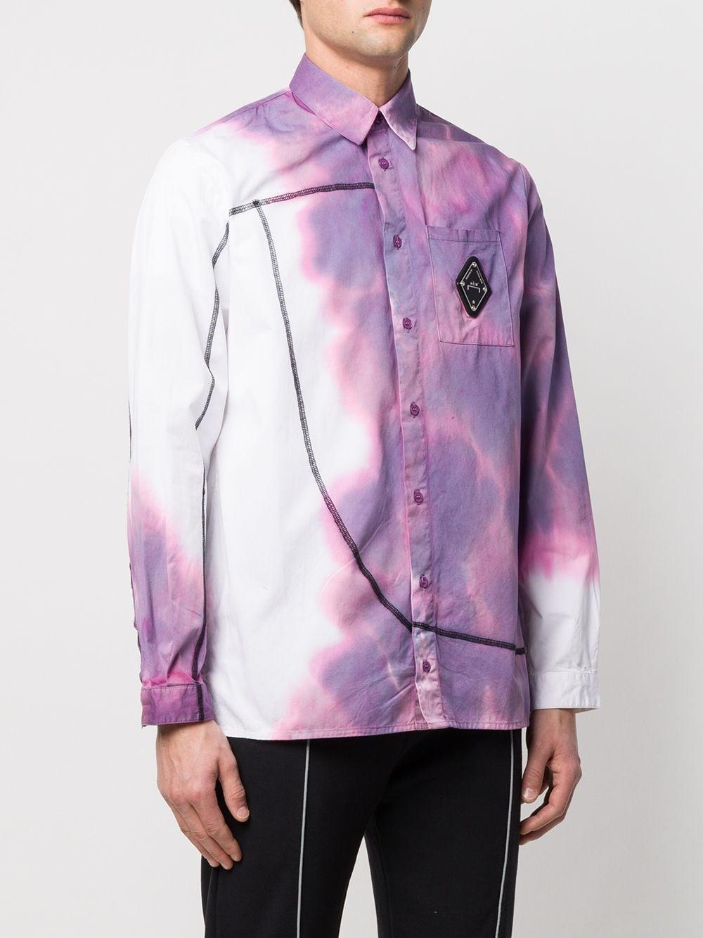 A_COLD_WALL* Overhemd Met Print in het Paars voor heren