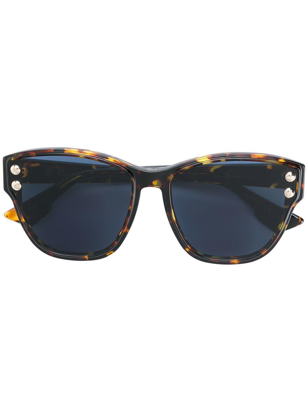 c56a53b4f82 Dior Dior Addict 3 Sunglasses in Brown - Lyst