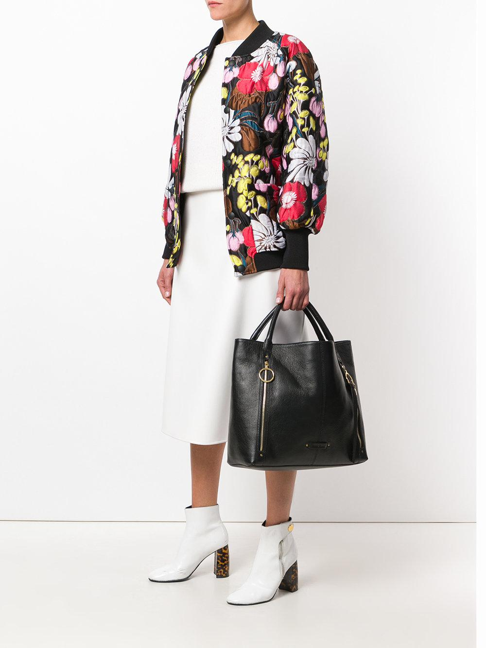 See By Chloé Suede Andy Tote Bag in Black