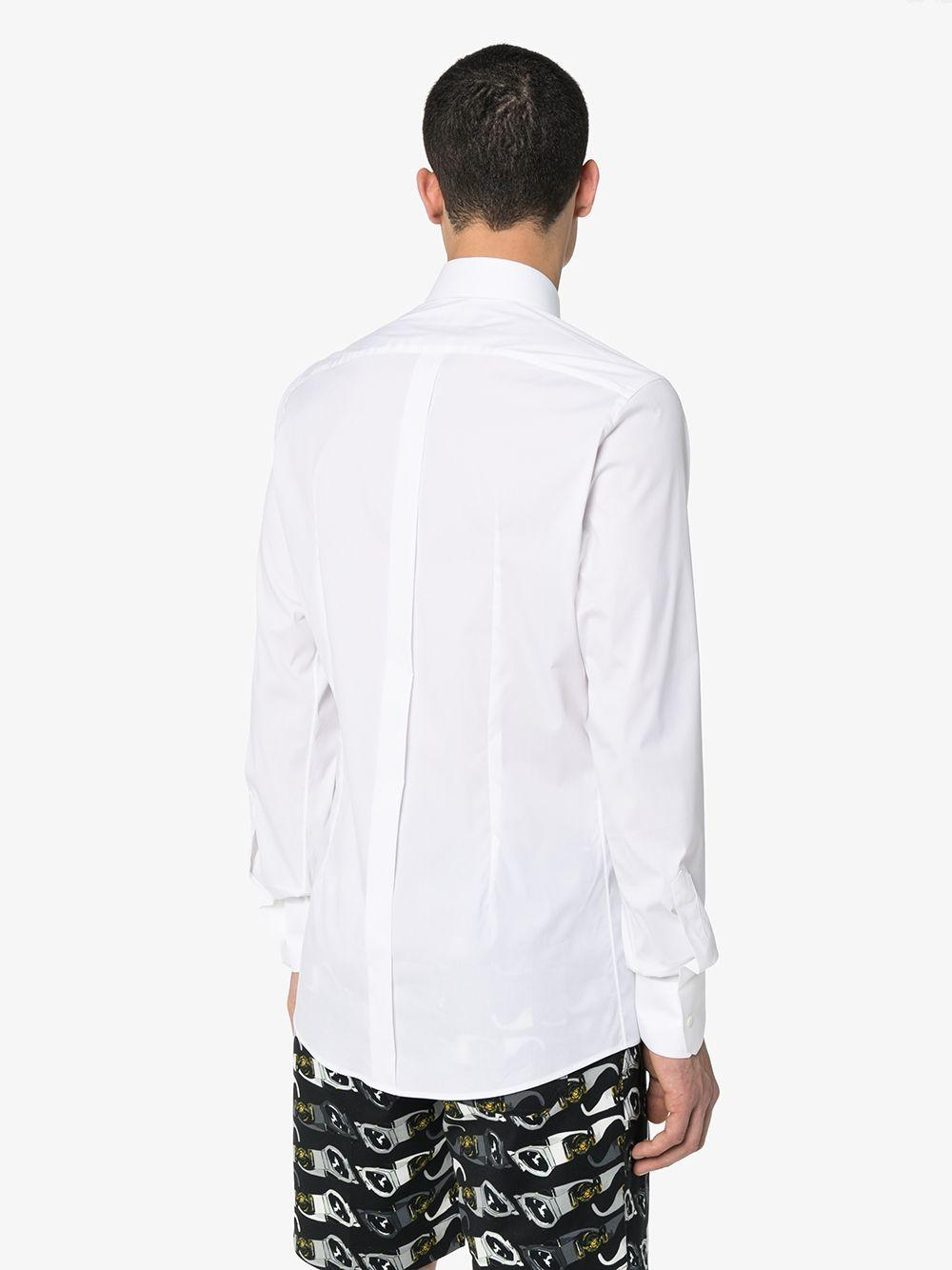 Dolce & Gabbana Synthetisch Klassiek Overhemd in het Wit voor heren