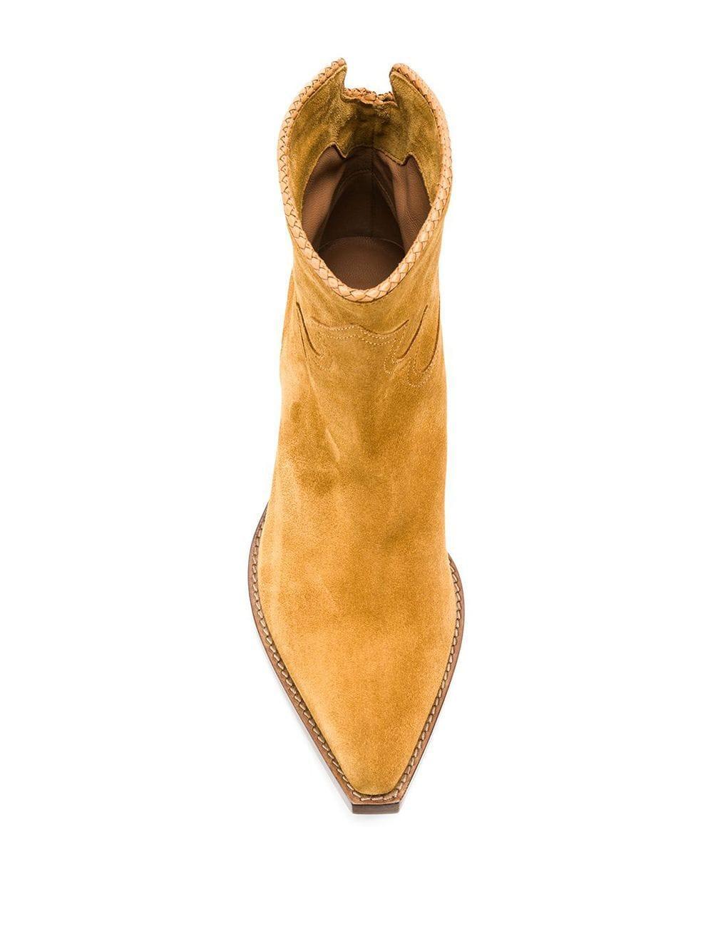 Botas con tacón cubano Sartore de Cuero de color Marrón