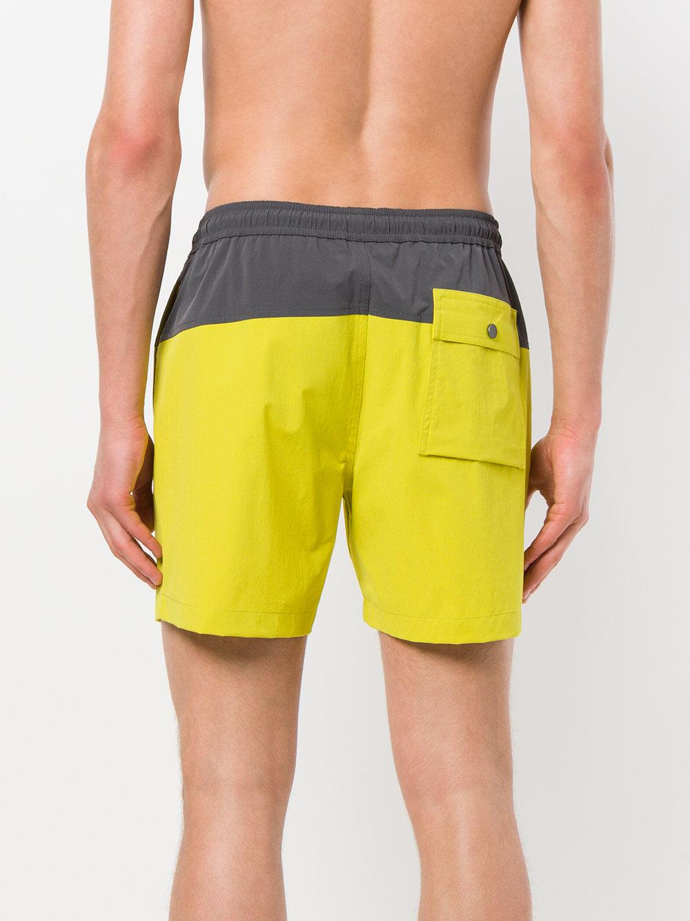 2018 Newest Cheap Online Cosmos swim shorts - Yellow & Orange Theory Outlet Really 4Xz03OyrK1
