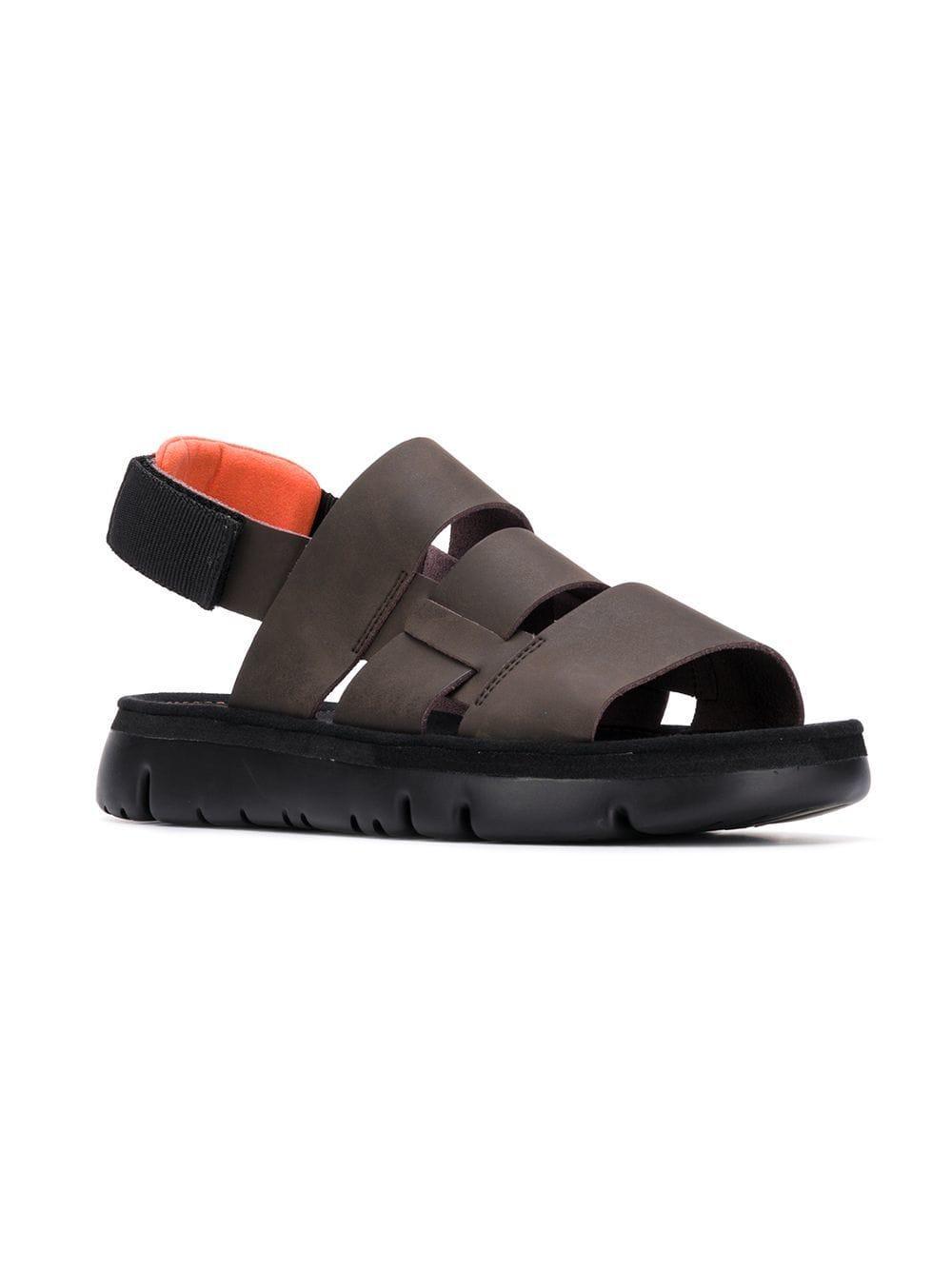 ea2853991795 Camper Oruga Sandals in Brown for Men - Lyst