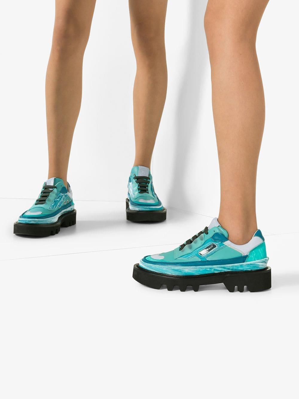 Zapatillas Protect Hybrid Rombaut de color Azul