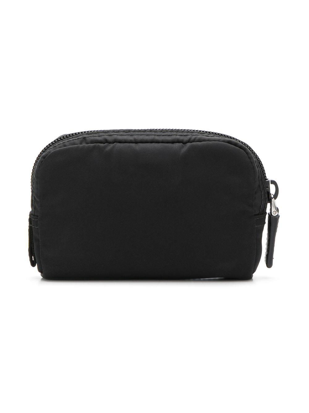 d90e80df3e Prada - Black Fabric Cosmetic Pouch - Lyst. View fullscreen