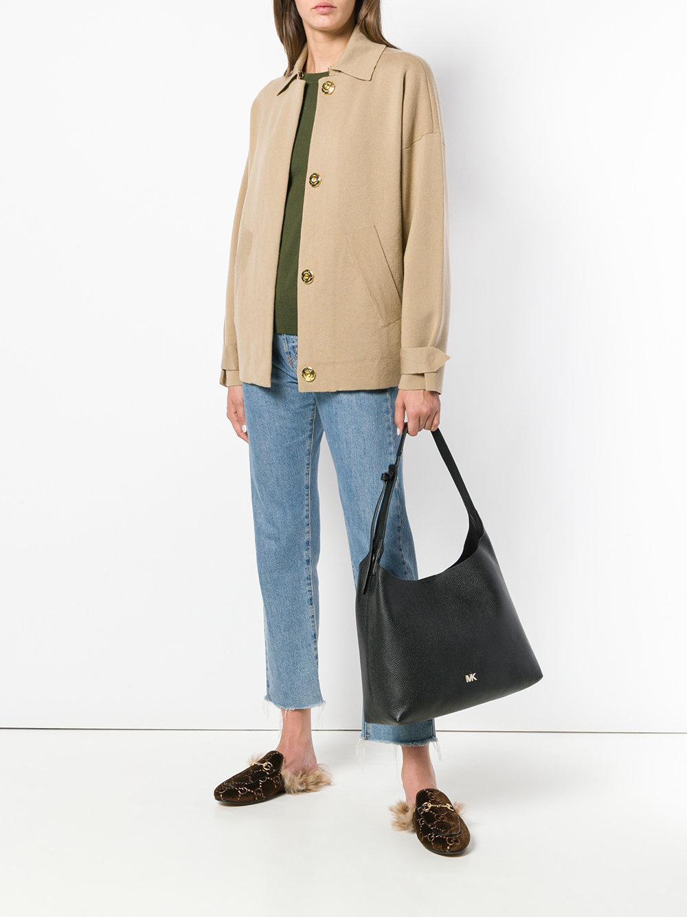 8d07e334ed58 Lyst - MICHAEL Michael Kors Classic Shoulder Bag in Black