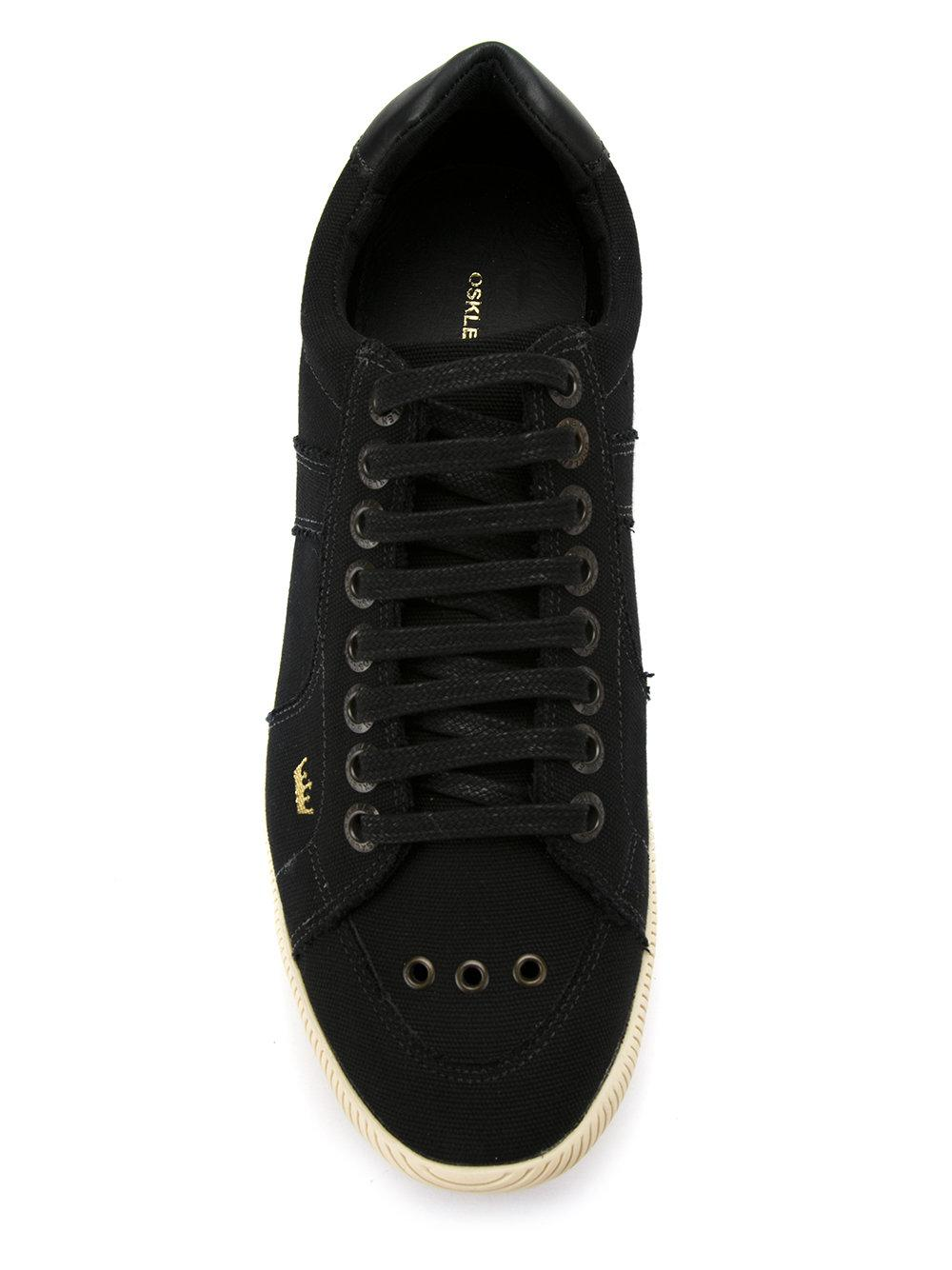 Osklen Cotton Panelled Trainers in Black for Men