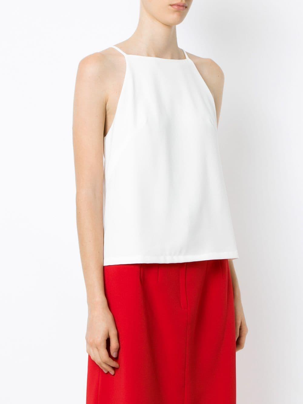 Thin straps top Olympiah de Tejido sintético de color Blanco