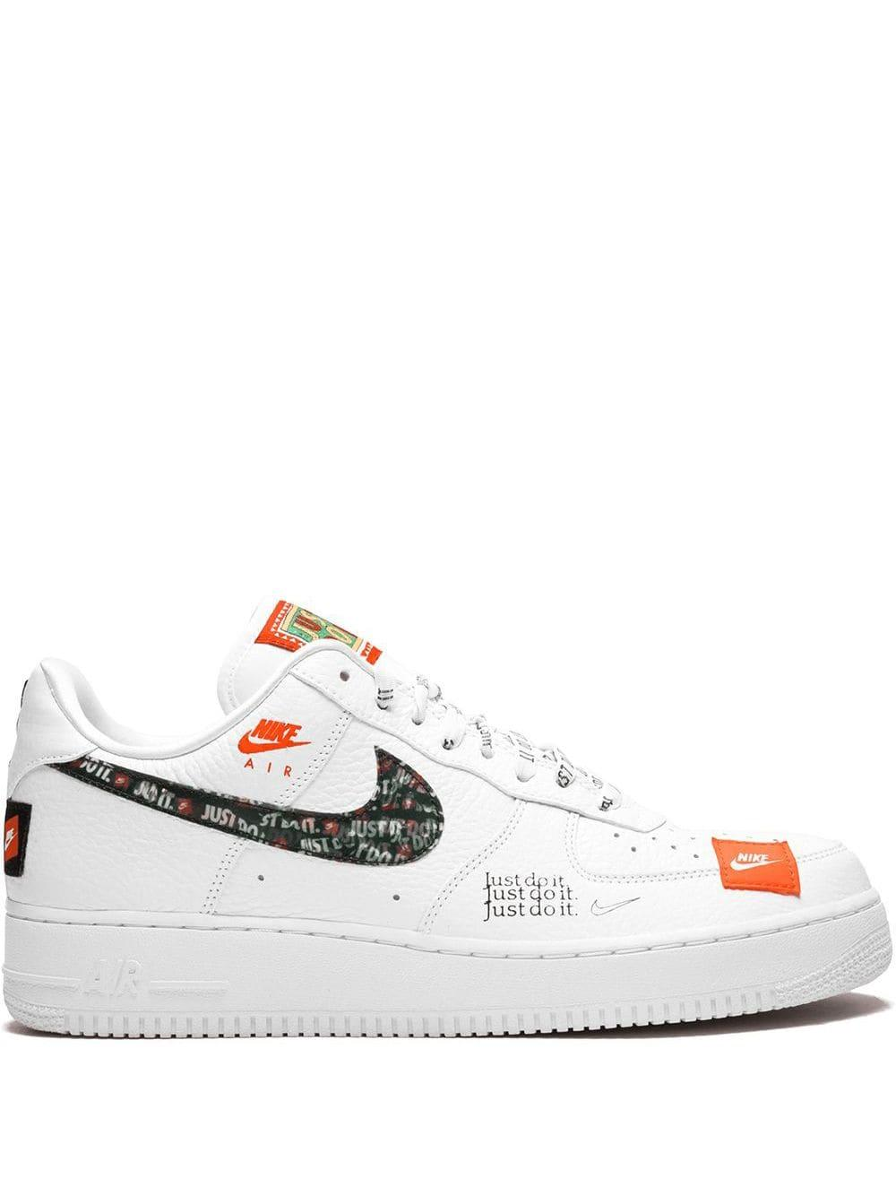 Nike Leather Air Force 1 '07 Prm Jdi Sneakers in White for Men - Lyst