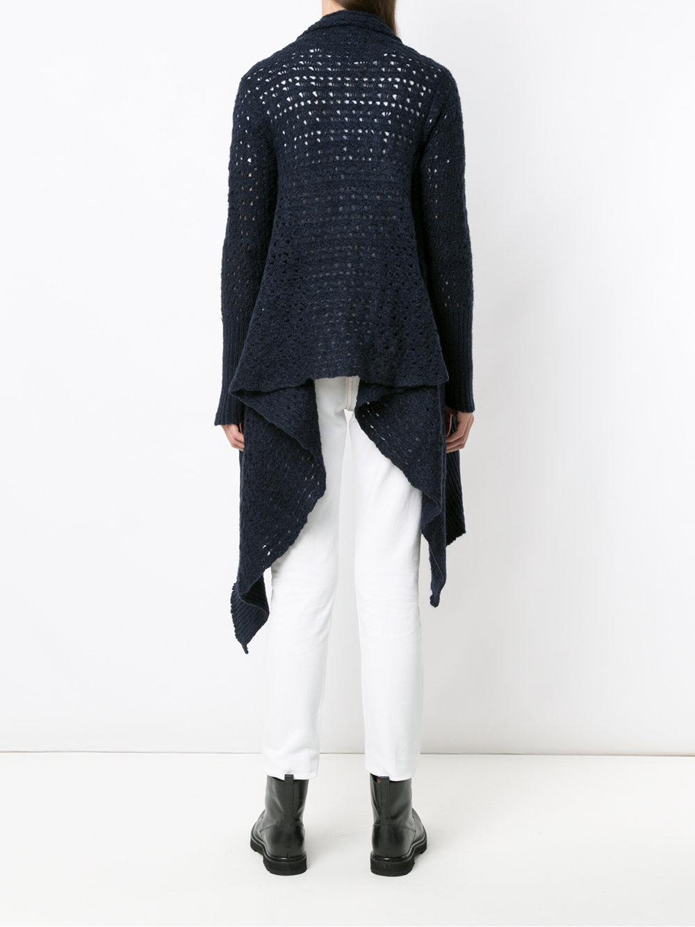 Buy Cheap Geniue Stockist Cheap Sale Pay With Paypal Volvo knit cardigan - Blue Uma Free Shipping Pay With Visa Clearance Official Site Free Shipping For Cheap I3nlLGnU0