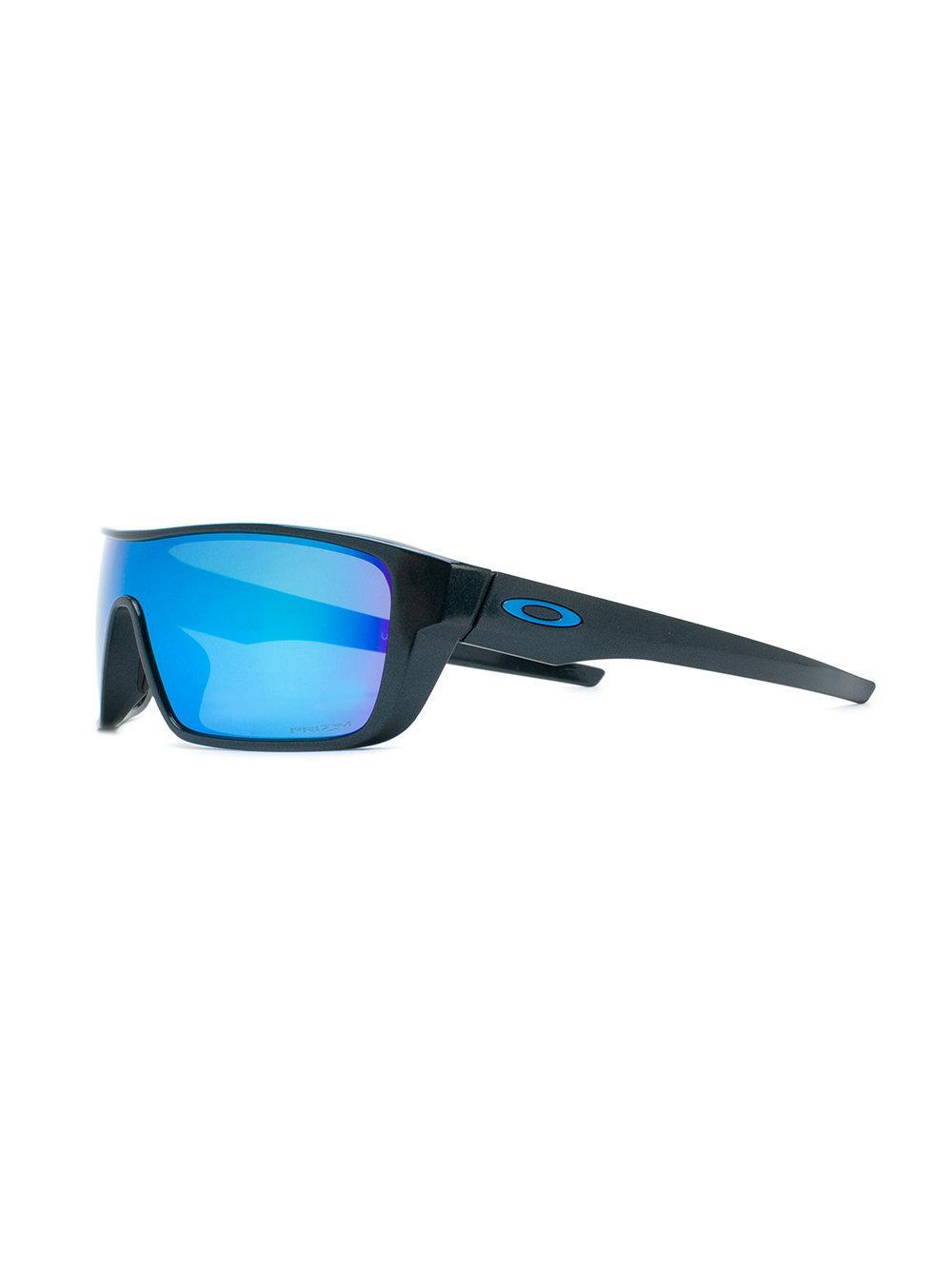 Oakley Straight Back Sunglasses in Black for Men