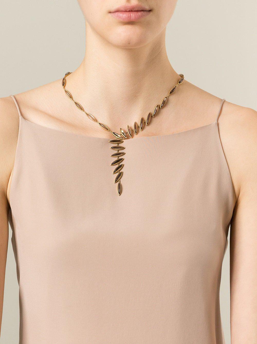 Antonio Bernardo Wing necklace - Metallic 544ajsnx