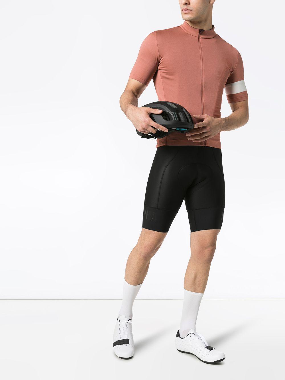 Homme RAPHA Classique Jersey II chaud rose laine mélangée Cyclisme Top M NEUF