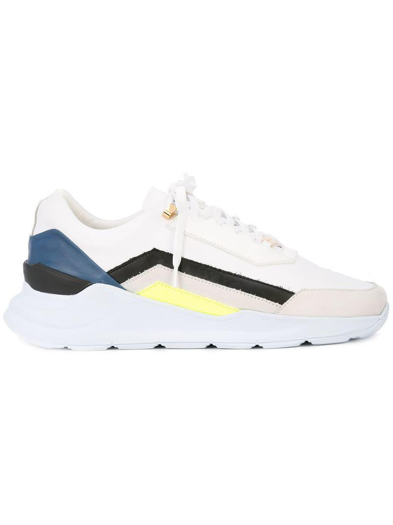 In Lyst Buscemi Strada Sneakers White rBCoxde