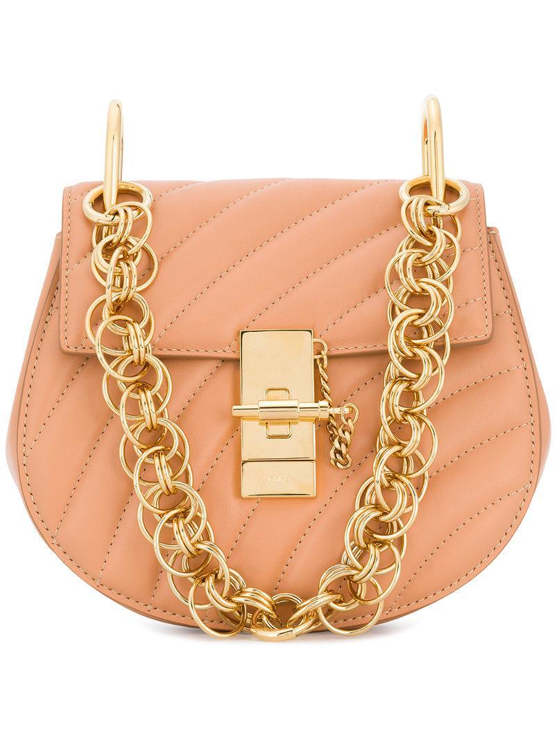 Chloé Mini Drew Bijou Shoulder Bag - Lyst 0264aa3727