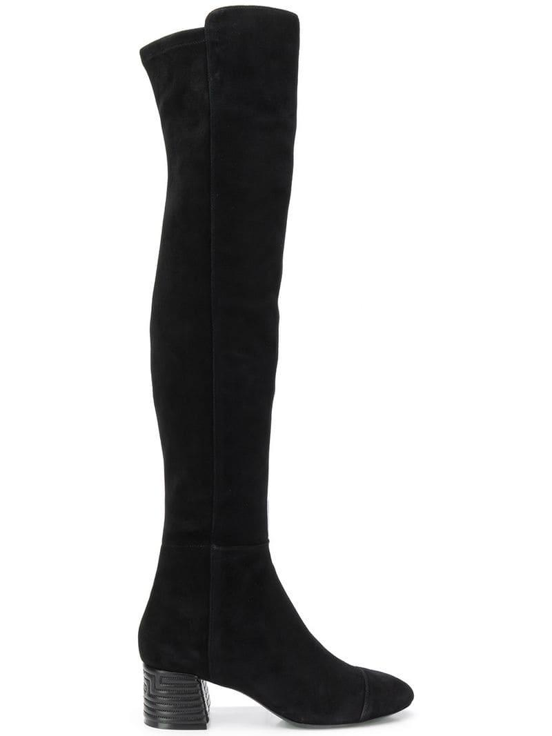 b95e5fa592a Tory Burch Nina Over-the-knee Boots in Black - Save 34% - Lyst