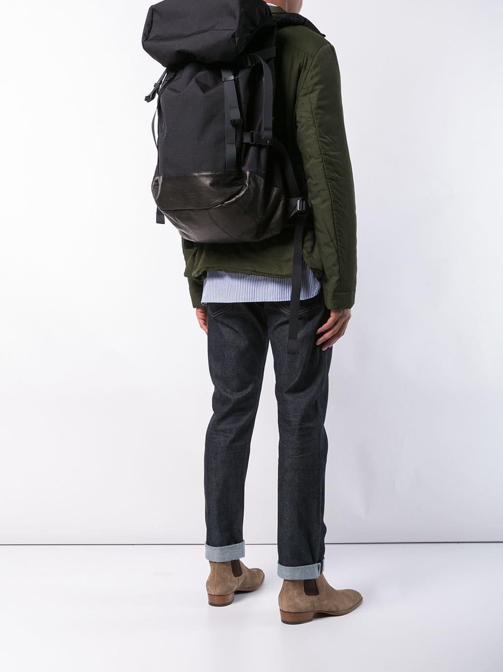 d41600894e8f Visvim - Black Buckle Backpack for Men - Lyst. View fullscreen