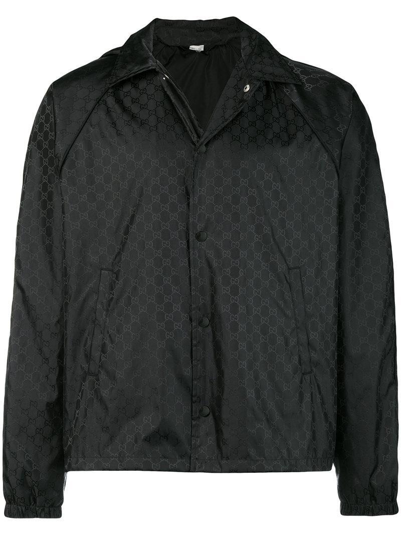 66cfcdd7818 Lyst - Coupe-vent à motif Suprême GG Gucci pour homme en coloris Noir