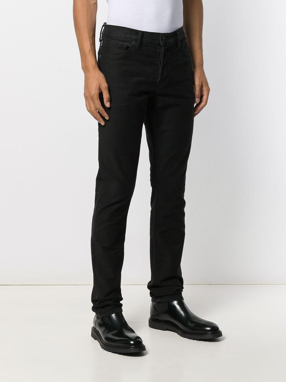 Tom Ford Denim Slim-fit Jeans in het Zwart voor heren
