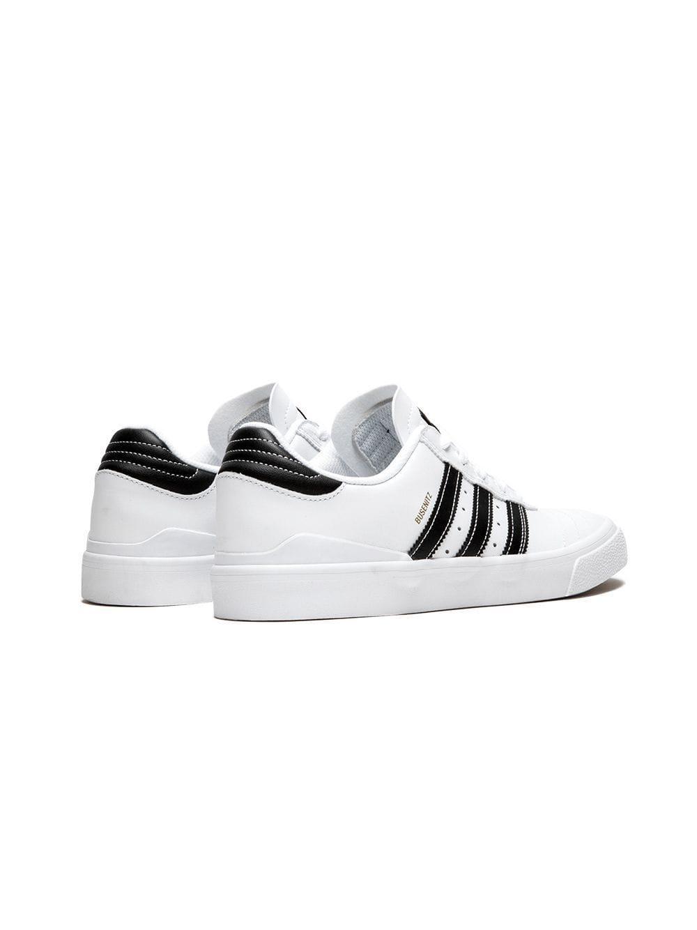 adidas Busenitz Vulc in White for Men