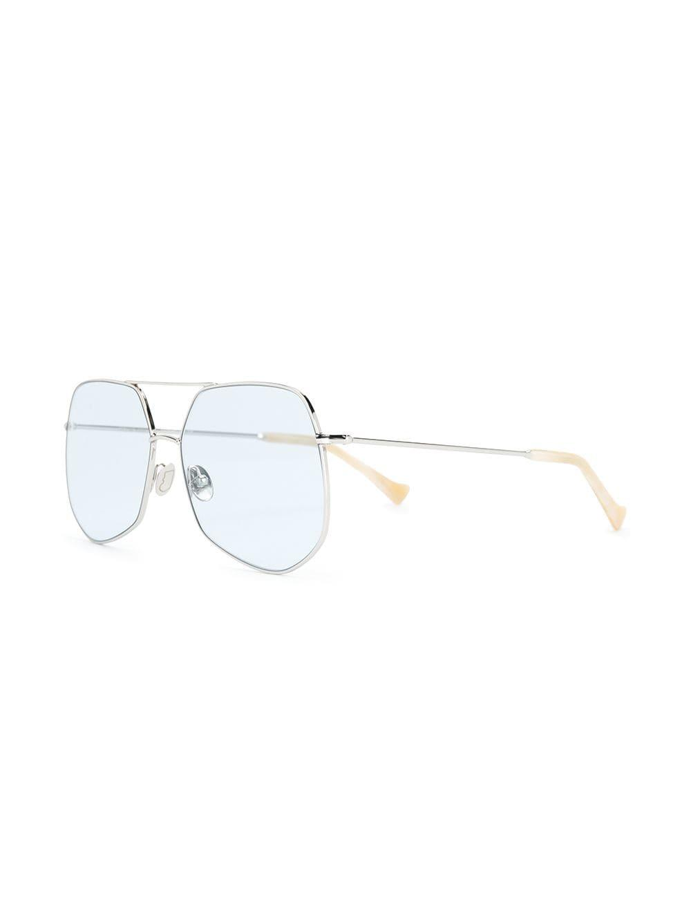 grey ant mesh sunglasses in metallic lyst Ray-Ban RB4101 Jackie Ohh view fullscreen