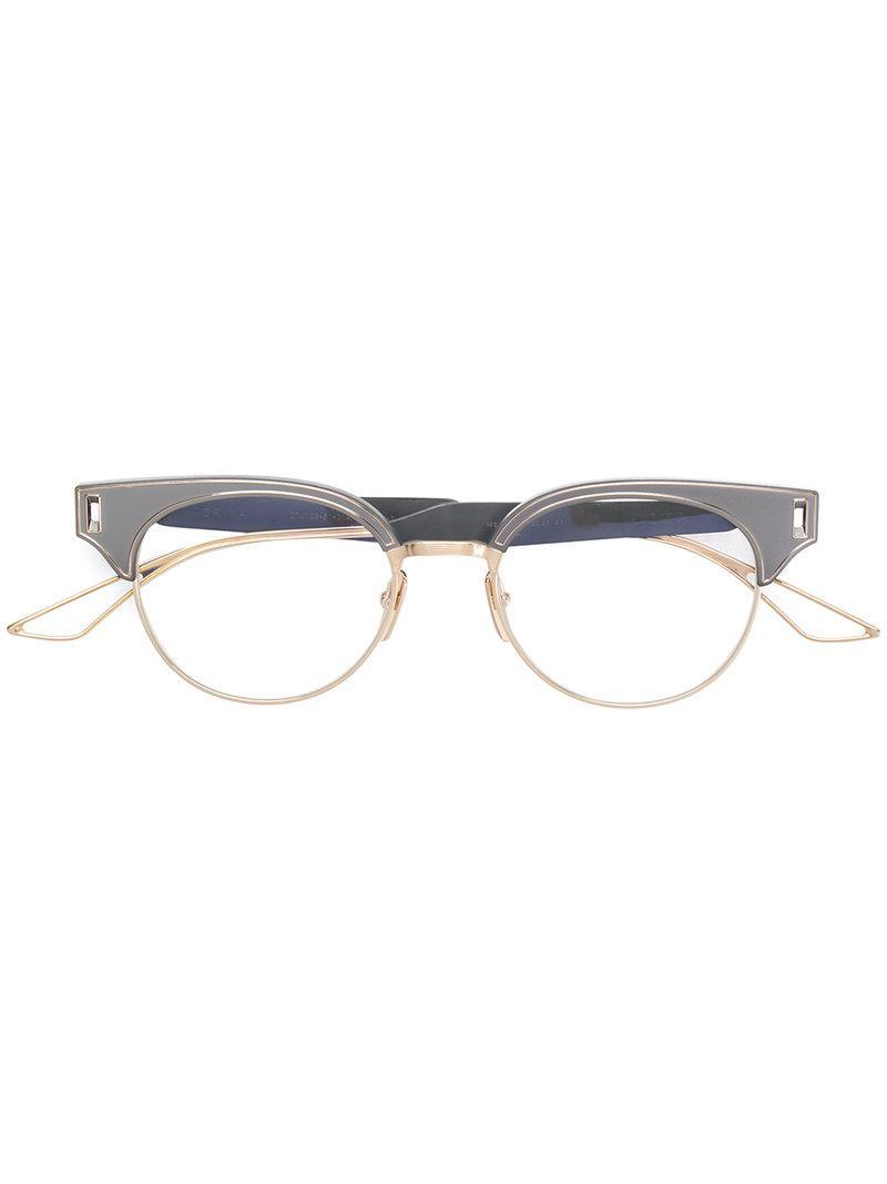 cce1314c886e Lyst - Dita Eyewear Brixa Glasses in Gray