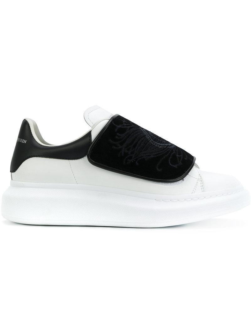 Alexander Mcqueen Black Feather Shoes