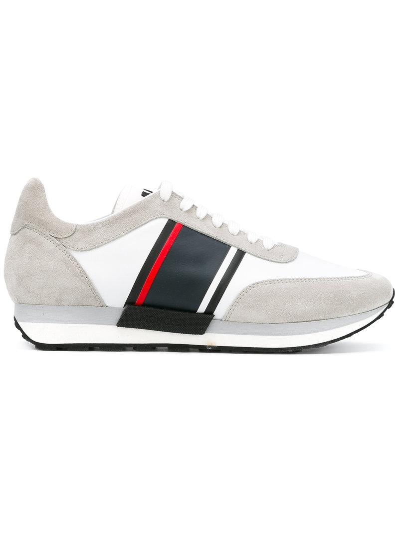 Lyst Moncler Horace Sneakers In White For Men