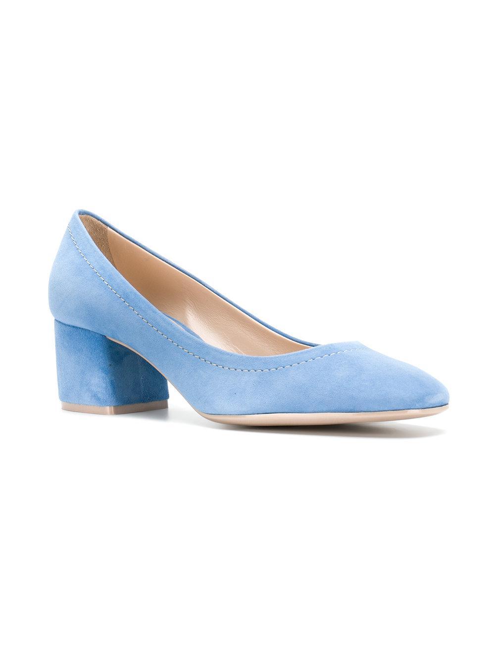 block heel pumps - Blue Roberto Festa Milano Trfe8C7wEH