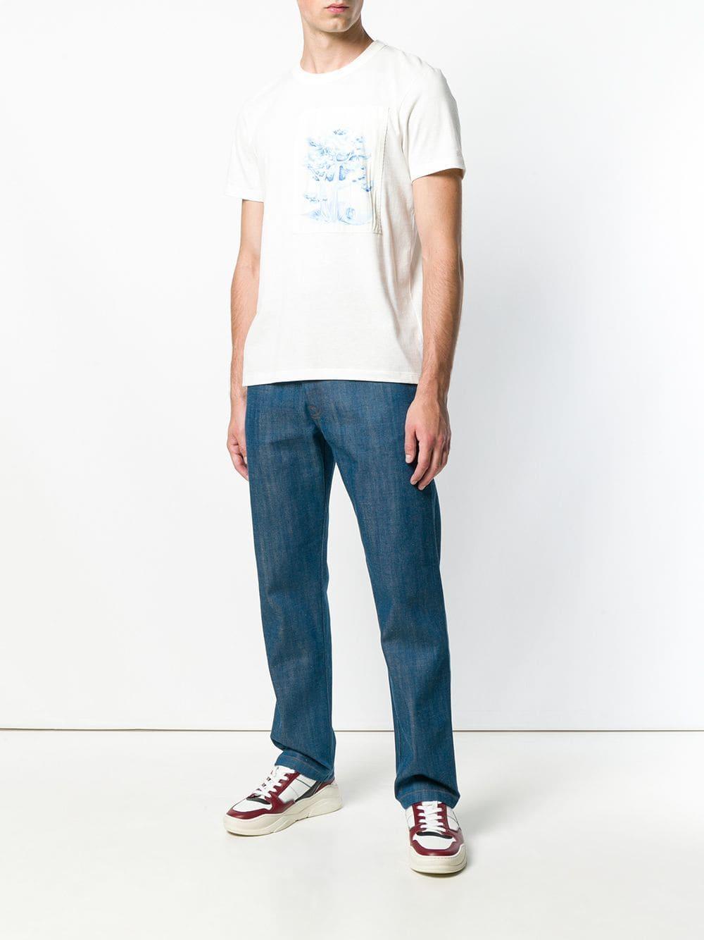 AMI Denim Jeans mit geradem Schnitt in Blau für Herren D2uTy