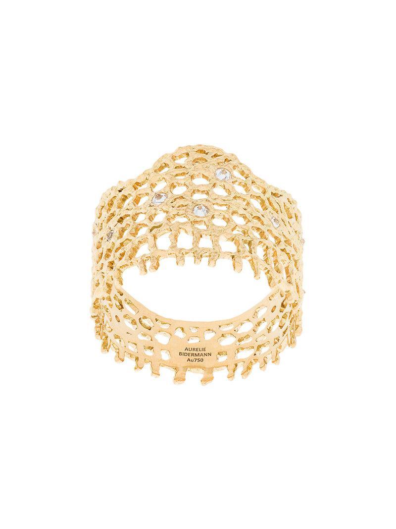 Ana ring - Metallic Aur EmXa2ZP