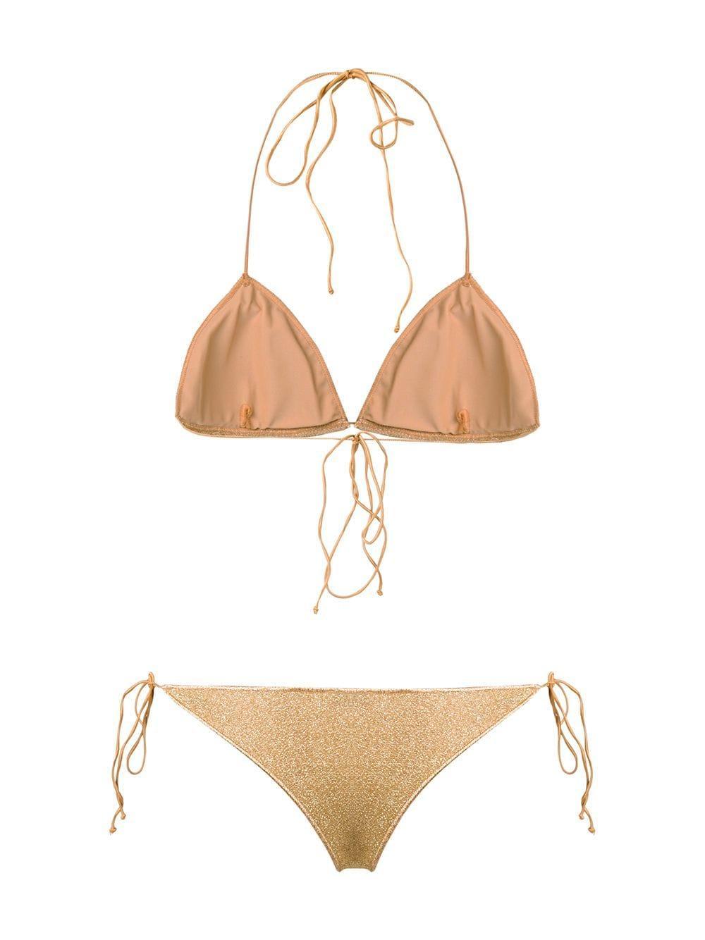 afe1550ef4b24 Oseree - Metallic Glitter Bikini - Lyst. View fullscreen